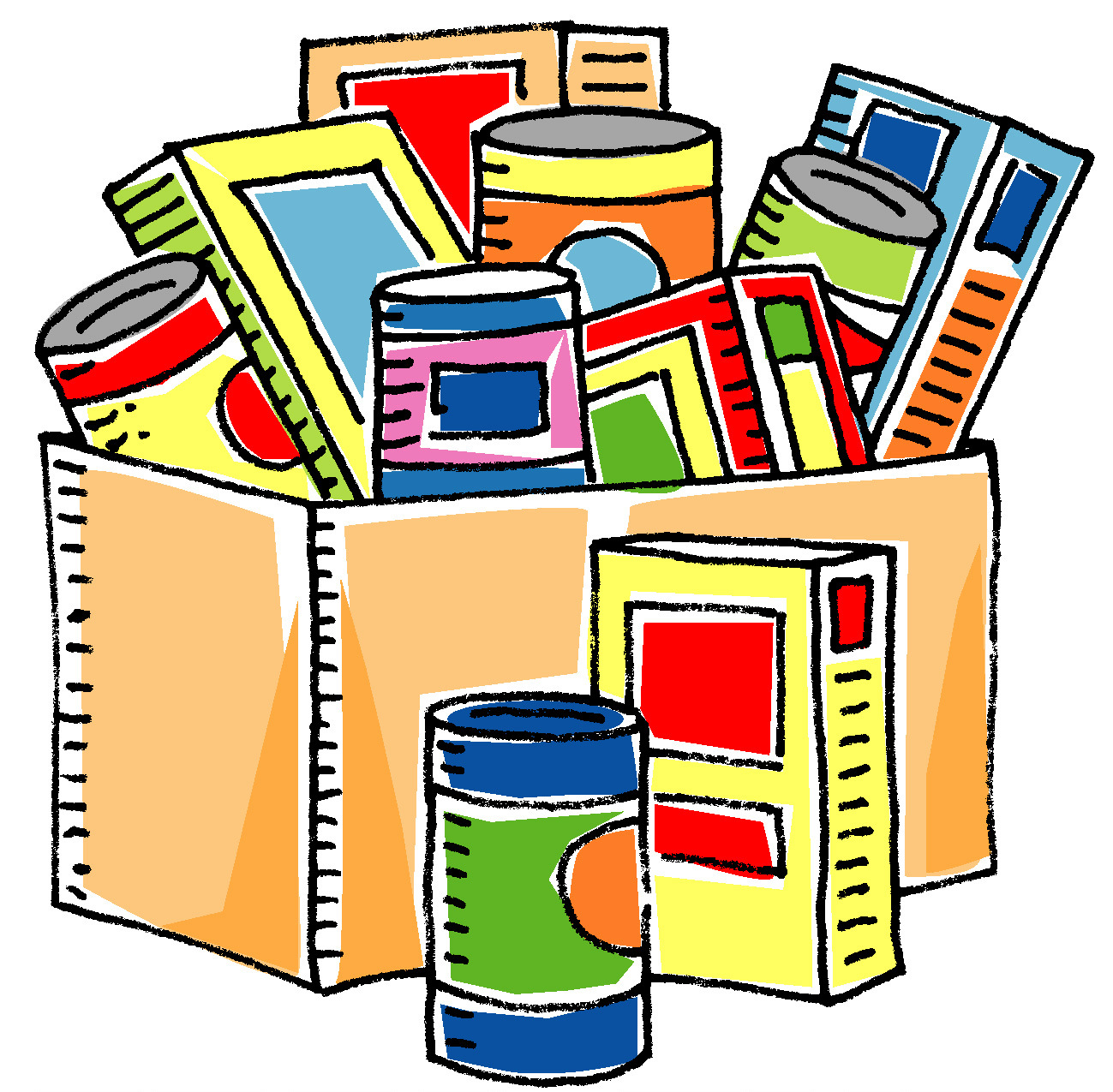 Church Food Pantry Clip Art.