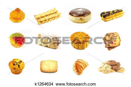 Drawings of Baked Goods Series 3 k1264634.