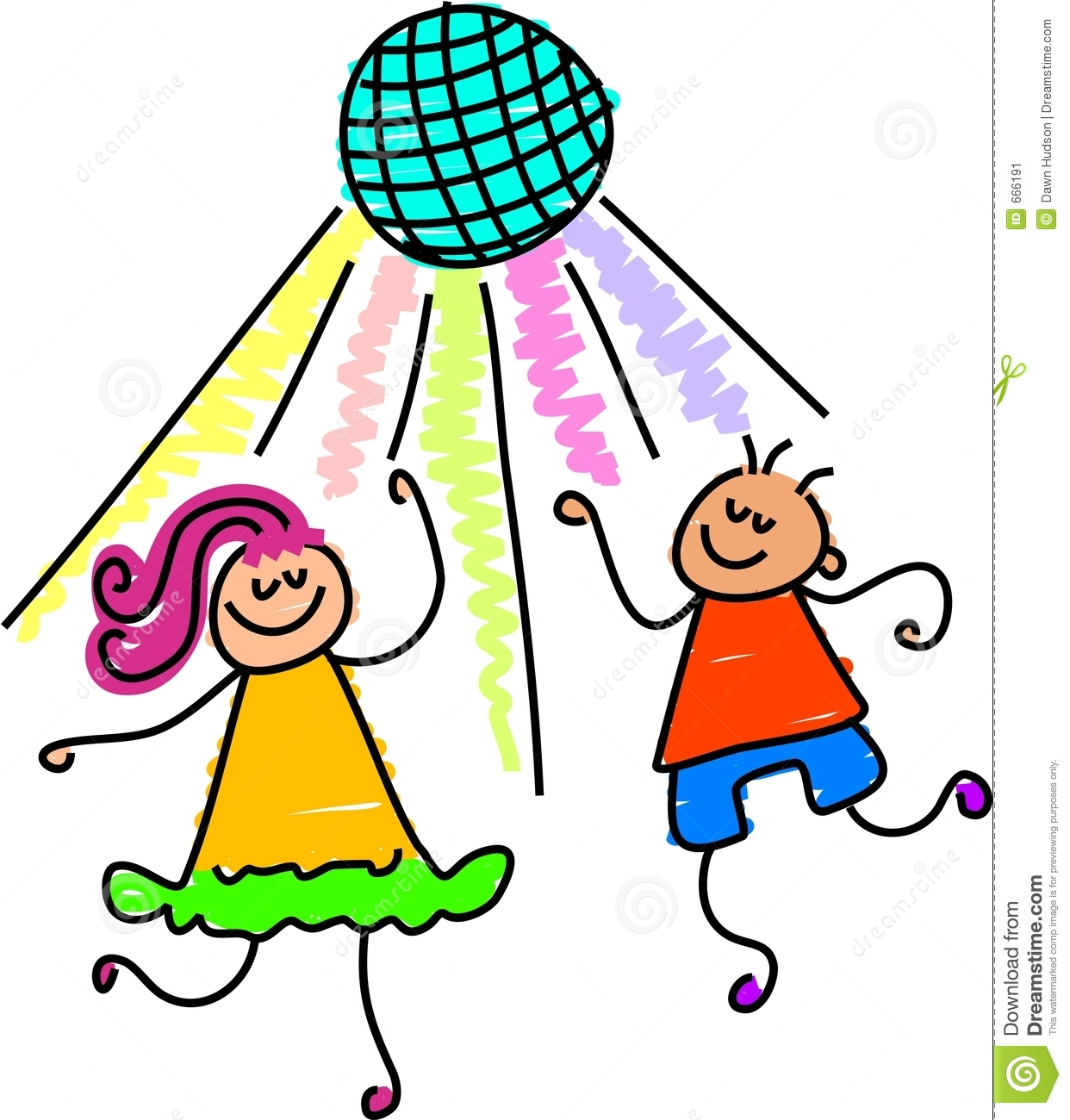 Dance Cartoon Clipart.