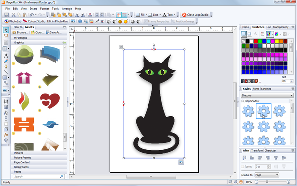 Serif clipart browser.