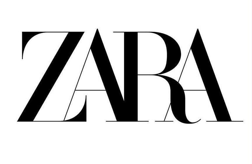 Zara heeft een nieuw logo.