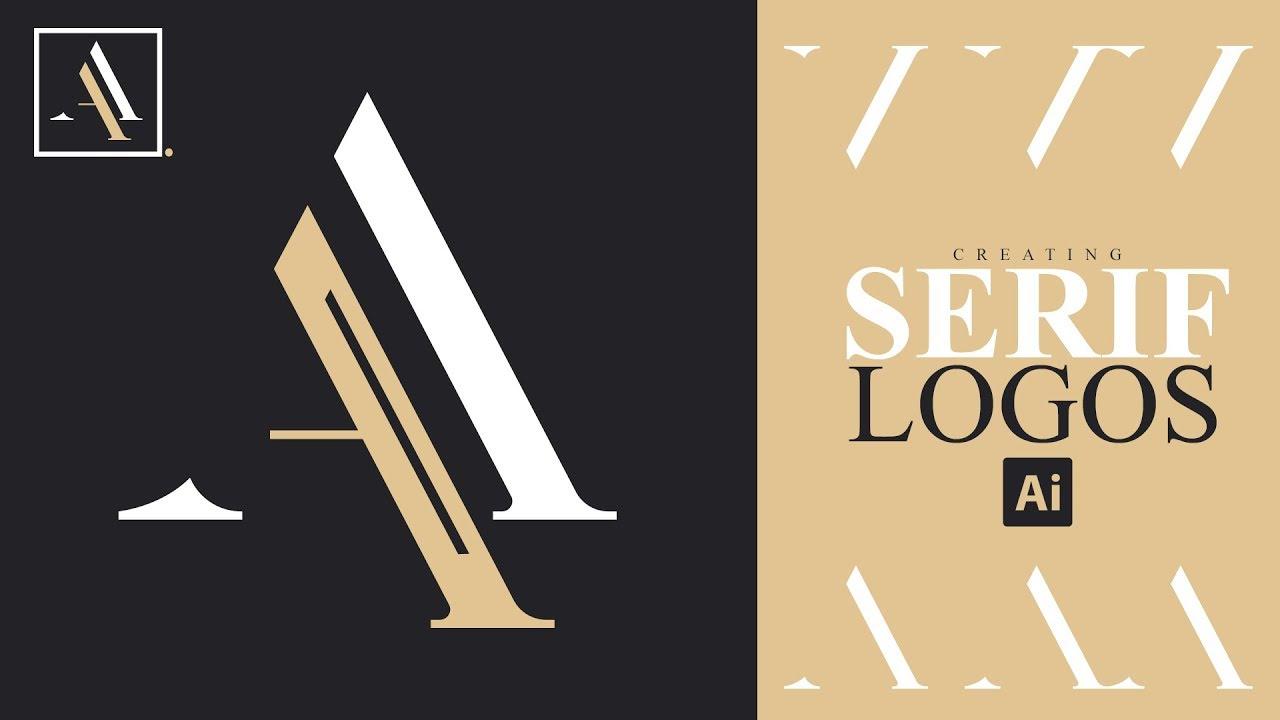 Illustrator Tutorial: Creating Serif Logos/Typeface.