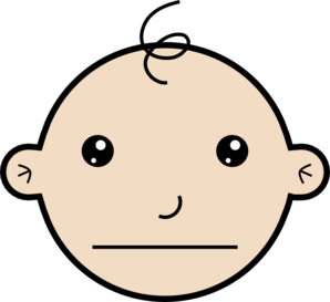 Serious Person Clipart.