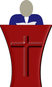 Sermon Clip Art at Clker.com.