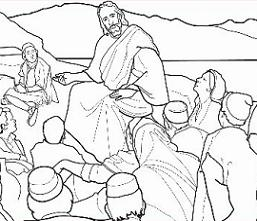 Free Sermon on the Mount Clipart.