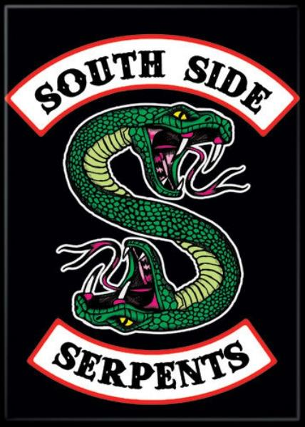 Details about Riverdale TV Series South Side Serpents Logo Refrigerator  Magnet Archie UNUSED.