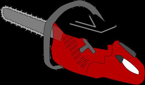 Serra elétrica vetor clip art.