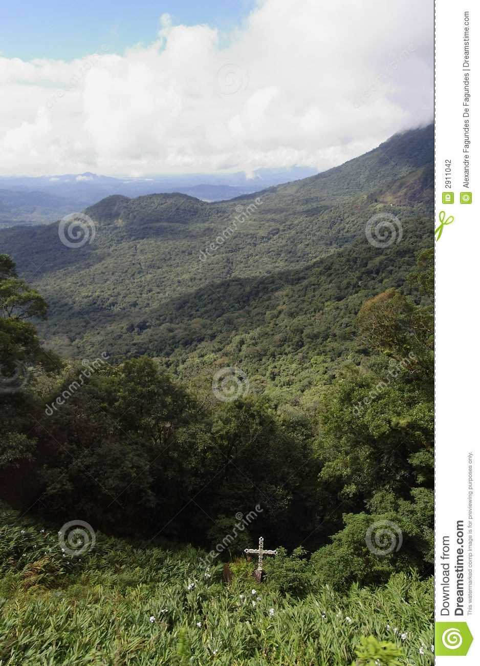 Serra Do Mar Parana Stock Photography.