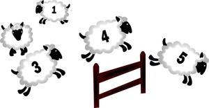Serta Sheep Clipart.