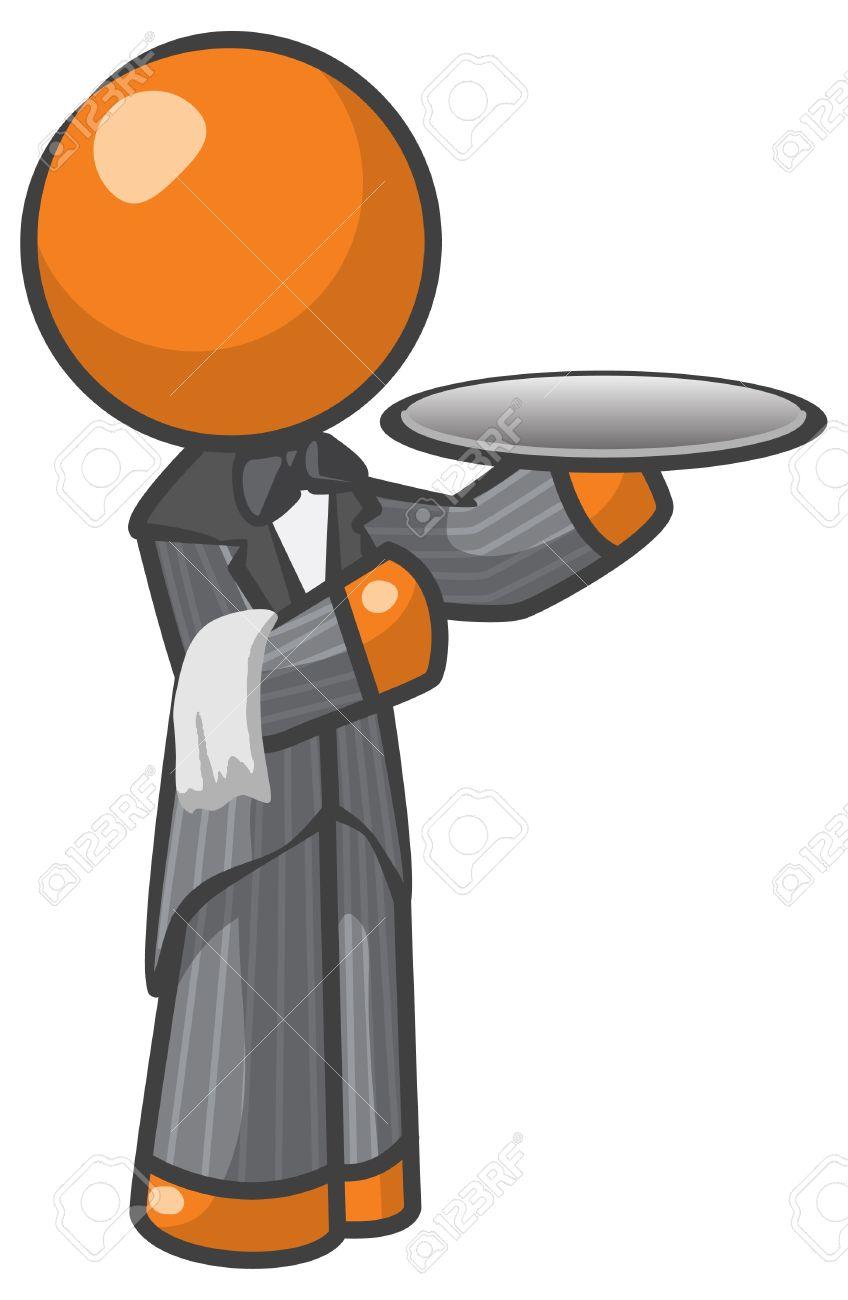 Servant Icon Clipart.