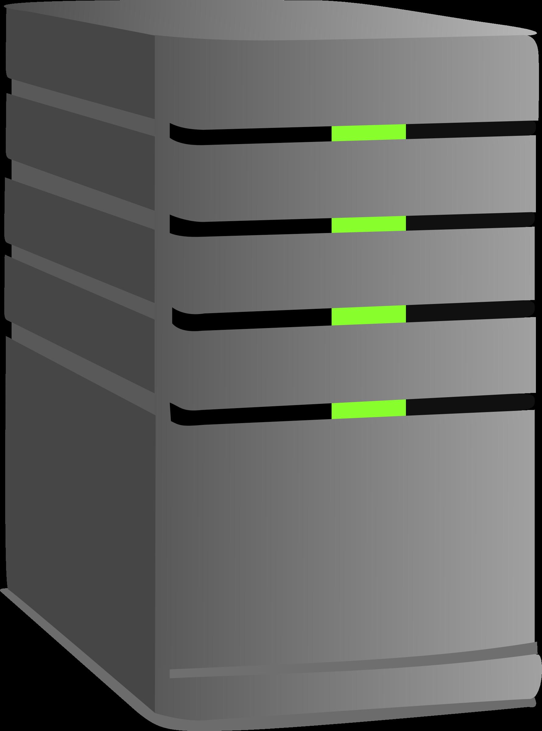 Computer Server Clipart.