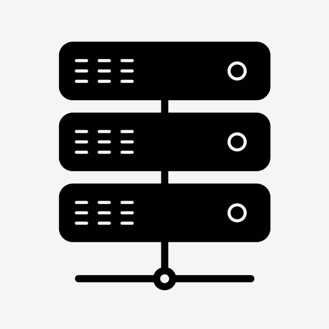 Vector Server Icon, Server, Link, Connect PNG and Vector.