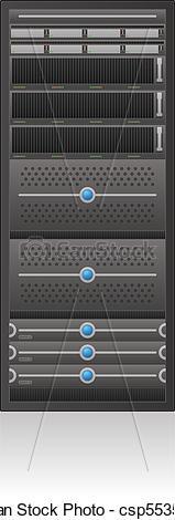 Server Rack Clipart.