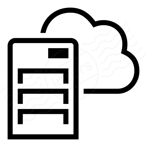 Cloud Symbol clipart.