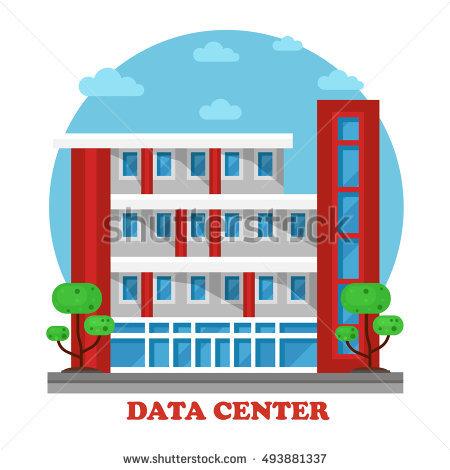 Data Center Building Stock Photos, Royalty.