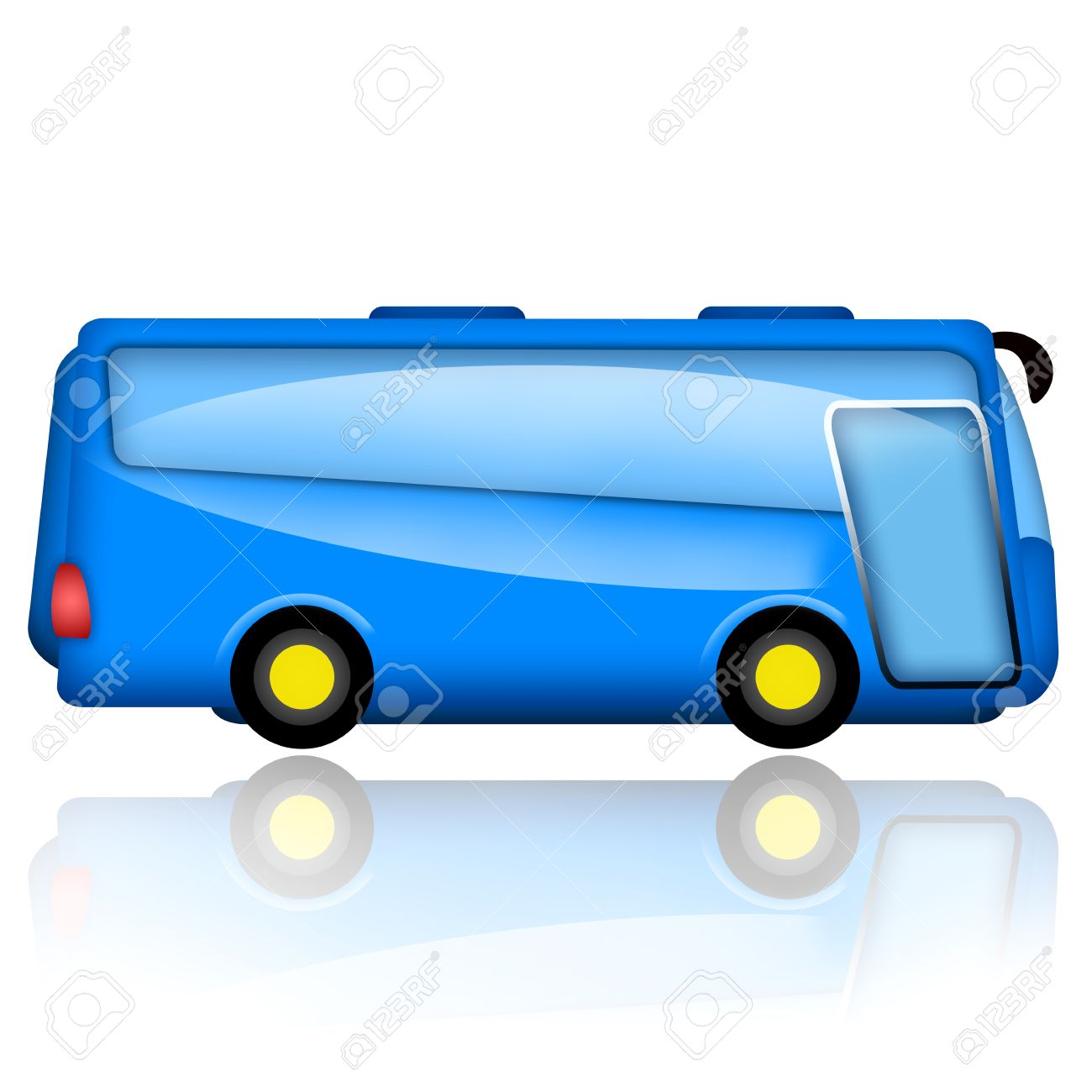 6,964 Service Bus Stock Vector Illustration And Royalty Free.