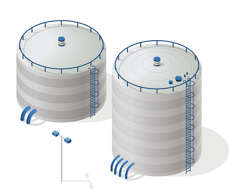 Water storage clipart.