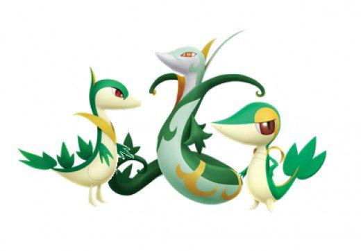Pokemon: Top 6 Grass Starters.