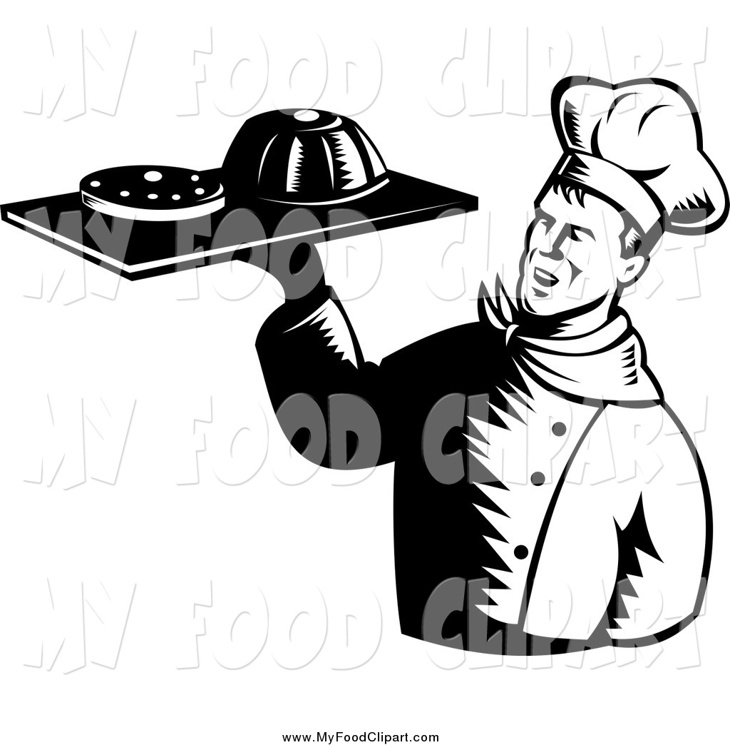 Royalty Free Black and White Stock Food Designs.