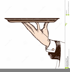 Free Serving Platter Clipart.