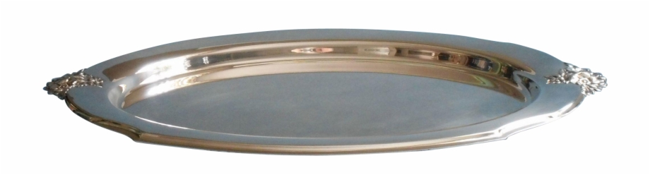 Silver Tray Png.