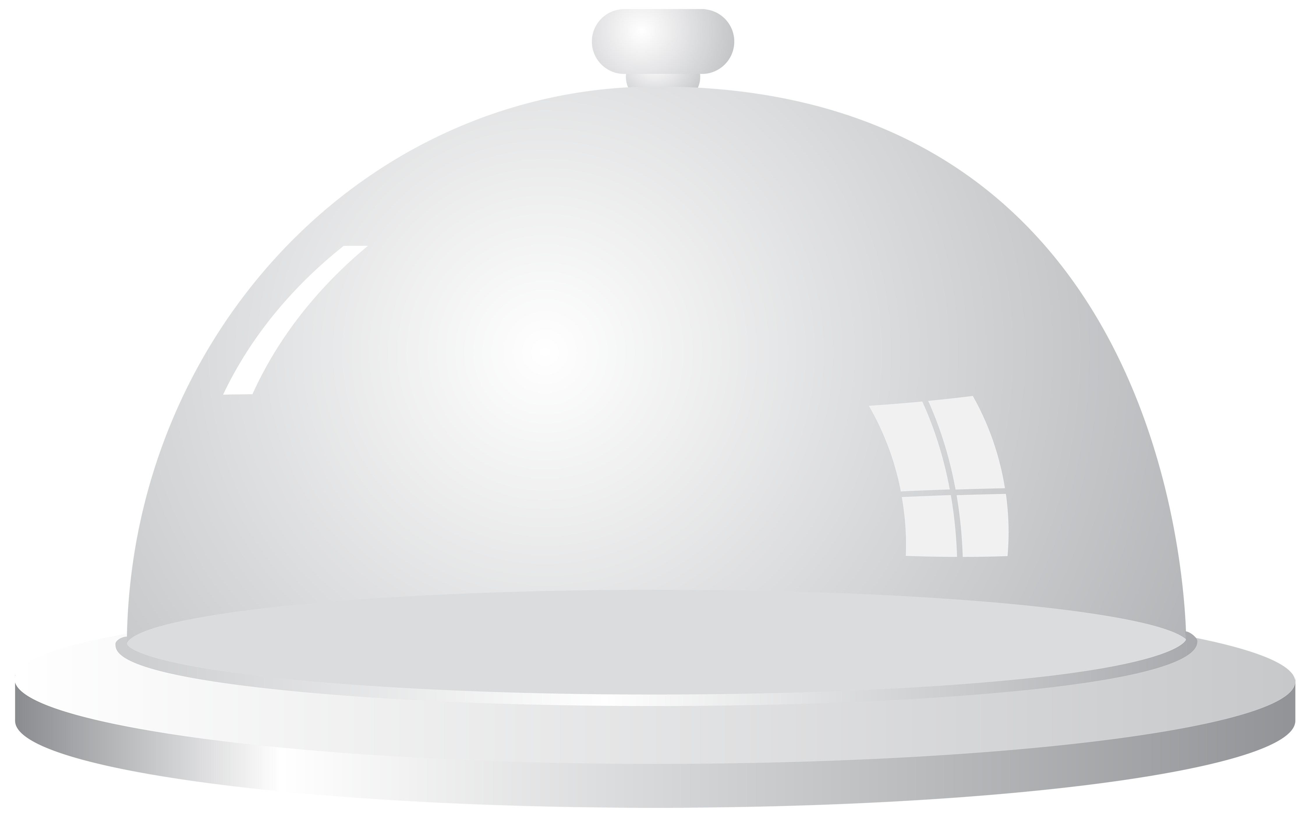 White Serving Tray PNG Clipart.