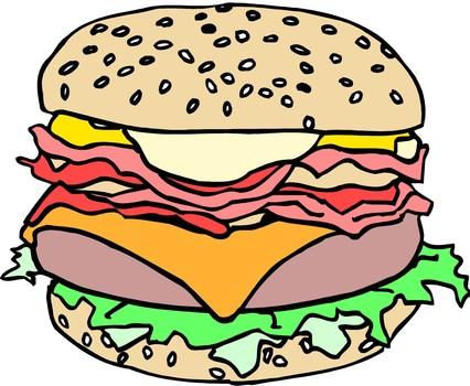 Sesame Clip Art.