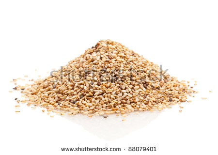 Sesame Seeds Stock Photos, Royalty.
