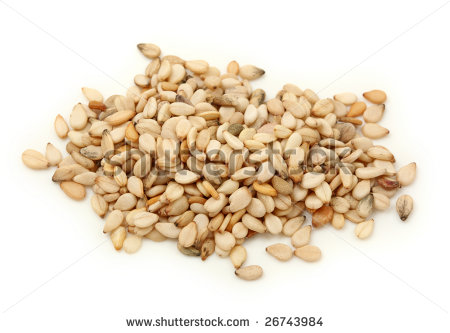 Sesame Seed Stock Photos, Royalty.
