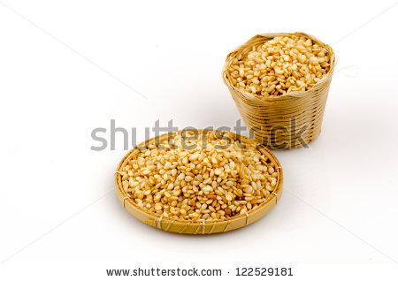 Sesame Grain Isolated Stock Photos, Royalty.