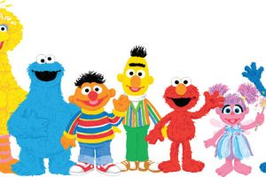Sesame street characters clipart » Clipart Station.