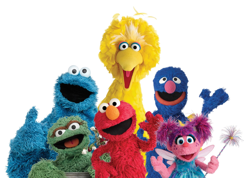 Download Free png Sesame Street characters head.
