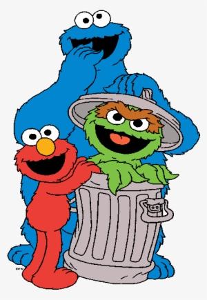 Sesame Street Characters PNG, Transparent Sesame Street.