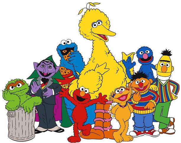 Sesame Street Christmas Ecards.