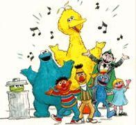 Sesame Street Christmas Clipart.
