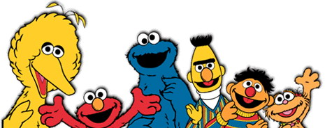 Sesame Street Clip Art Free.