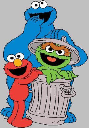 Clip Art Clips Misc Bday Parties Sesame Street Clipart.