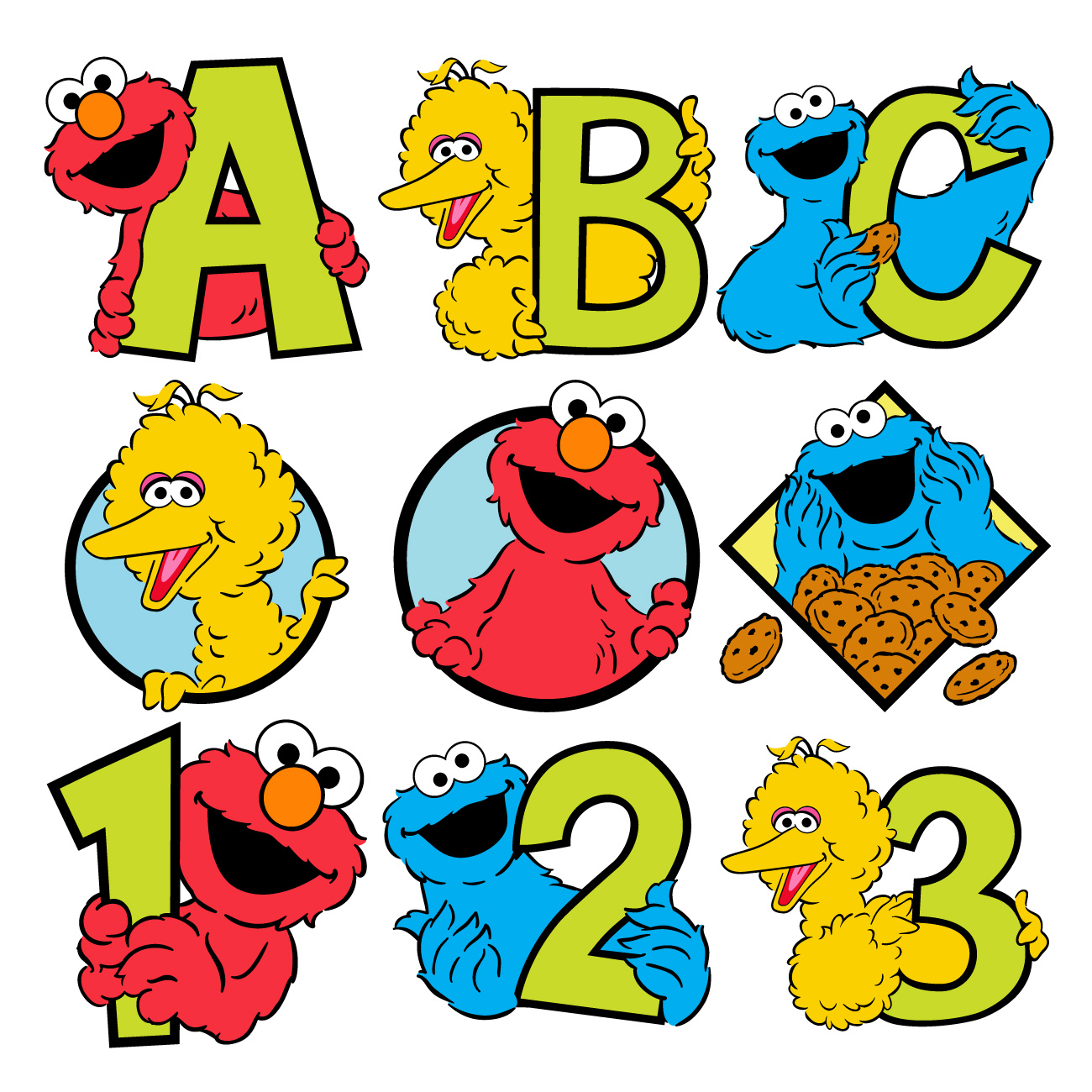 Download Free png Sesame Street Clipart.