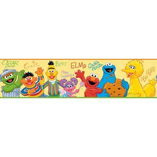 RoomMates Sesame Street Peel & Stick Border.