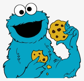 How To Draw Cookie Monster From Sesame Street.