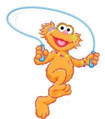 Sesame Street Zoe Clip Art Return To free image in 2019.