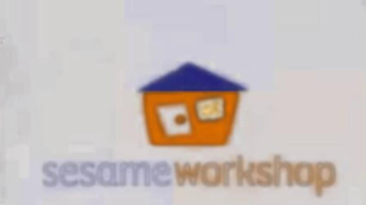 Sesame Workshop Logo (Blue Roof & Orange House Variant.