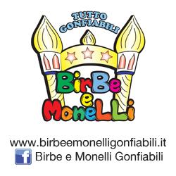 Birbe e Monelli noleggio gonfiabili a Sesto Calende.