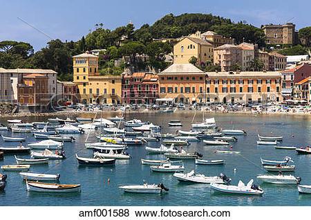 Pictures of Italy, Liguria, Sestri Levante, Baia del Silenzio.