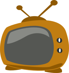 Clipart Tv Set.