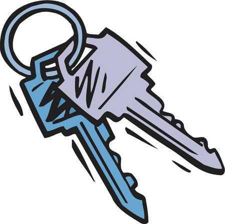 Set of keys clipart » Clipart Portal.