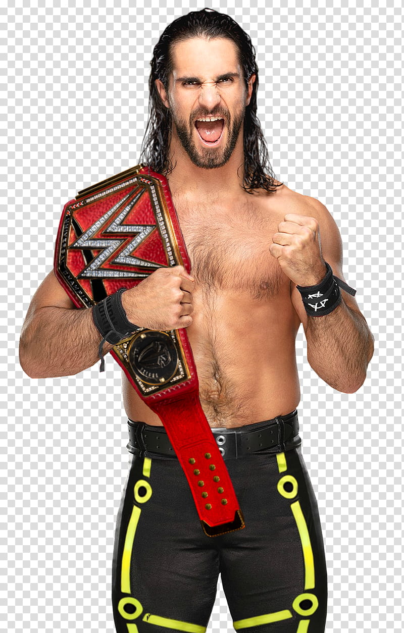 Seth Rollins Universal Champion Custom transparent.