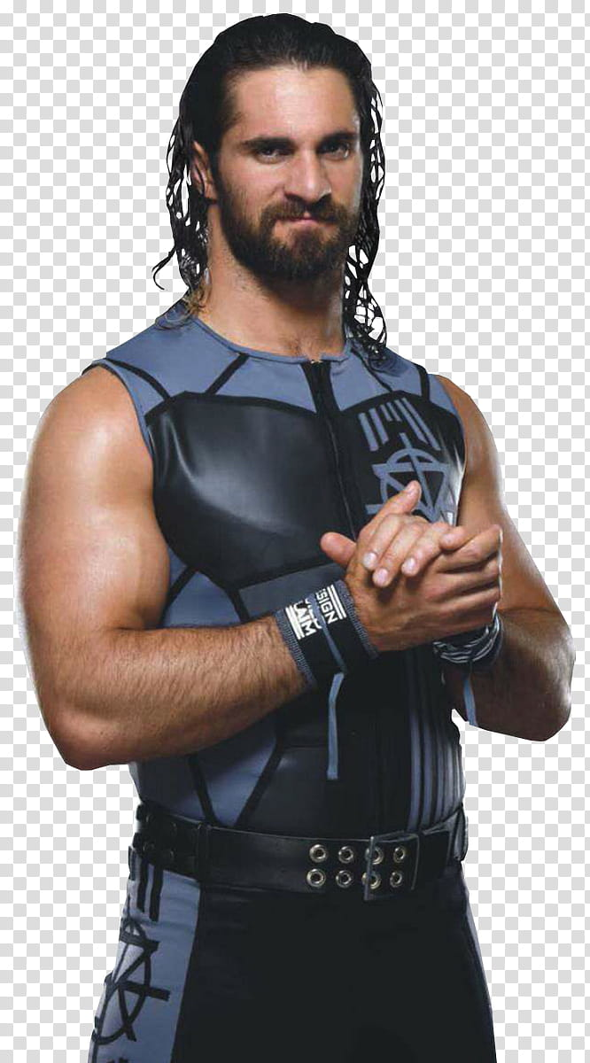 Seth Rollins RAW transparent background PNG clipart.