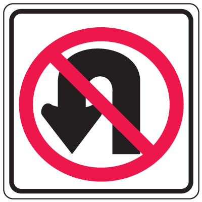 Prohibition Signs.
