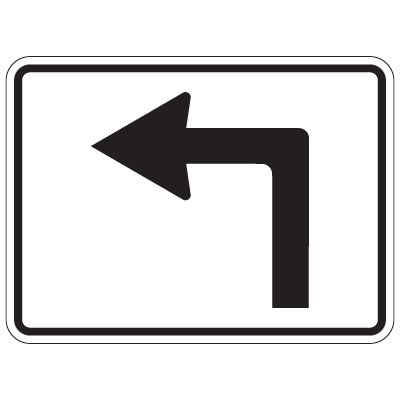 Directional Arrow Traffic Signs.